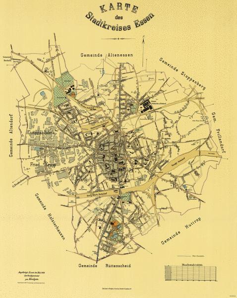 Stadt Essen Karte.Urban Kaleidoscope Quellenblatt